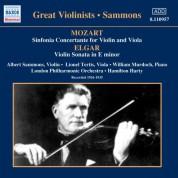 Albert Sammons: Mozart: Sinfonia Concertante / Elgar: Violin Sonata (Sammons) (1926-1935) - CD