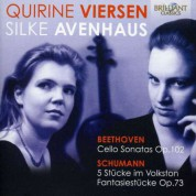 Quirine Viersen, Silke Avenhaus: Beethoven: Music for Cello and Piano - CD