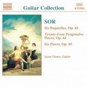 Jason Vieaux: Sor: 6 Bagatelles, Op. 43 / Progressive Pieces, Op. 44 - CD