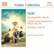Jason Vieaux: Sor: 6 Bagatelles, Op. 43 / Progressive Pieces, Op. 44 - CD