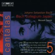 Bach Collegium Japan, Masaaki Suzuki: J.S. Bach: Cantatas, Vol. 5 (BWV 18, 143, 152, 155, 161) - CD
