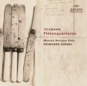 Musica Antiqua Köln, Reinhard Goebel: Telemann: Flute Quartets - CD