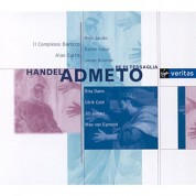 René Jacobs, Rachel Yakar, Il Complesso Barocco, Alan Curtis: Händel: Admeto, re di Tessaglia - CD