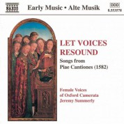 Let Voices Resound: Songs From Piae Cantiones - CD