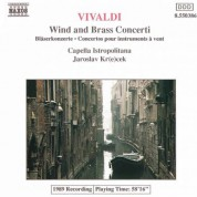 Vivaldi: Wind and Brass Concertos - CD