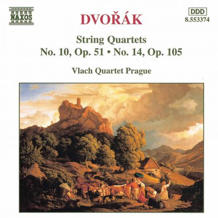 Vlach Quartet Prague: Dvorak, A.: String Quartets, Vol. 4 (Vlach Quartet) - Nos. 10, 14 - CD