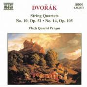 Vlach Quartet Prague: Dvorak, A.: String Quartets, Vol. 4 (Vlach Quartet) - Nos. 10, 14 - CD