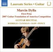 Marcin Dylla: Guitar Recital: Dylla, Marcin - Rodrigo, J. / Tansman, A. / Maw, N. / Ponce, M. - CD