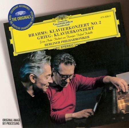 Berliner Philharmoniker, Géza Anda, Herbert von Karajan, Rafael Kubelik: Brahms/ Grieg: Piano Concertos - CD