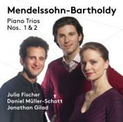 Julia Fischer, Daniel Müller-Schott, Jonathan Gilad: Mendelssohn: Piano Trios Nos. 1 & 2 - SACD