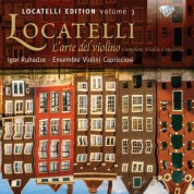 Ensemble Violini Capricciosi, Igor Ruhadze: Locatelli: L'arte del violino, Complete Violin Concertos - CD