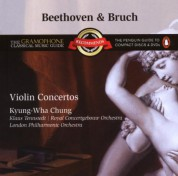 Kyung-Wha Chung, Concertgebouw Orchestra Amsterdam, Klaus Tennstedt: Beethoven & Bruch: Violin Concertos - CD