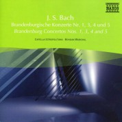 Bohdan Warchal: Bach, J.S.: Brandenburg Concertos Nos. 1, 3, 4 and 5 - CD
