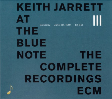 Keith Jarrett: At The Blue Note, 3rd - CD