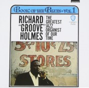 Richard Groove Holmes: Book Of The Blues - CD
