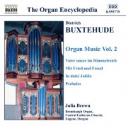 Julia Brown: Buxtehude: Organ Music, Vol. 2 - CD