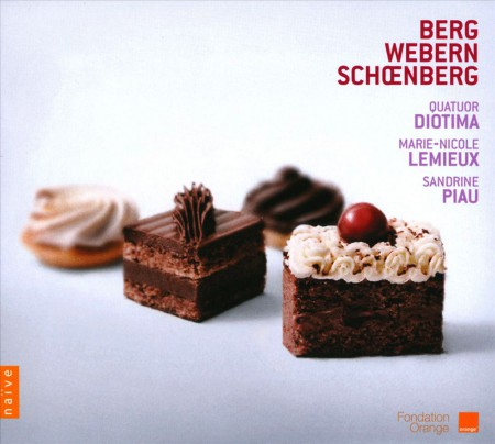 Quatuor Diotima, Sandrine Piau, Marie-Nicole Lemieux: Schoenberg, Webern, Berg: The String Quartet and the Voice - CD