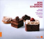 Quatuor Diotima, Sandrine Piau, Marie-Nicole Lemieux: Schoenberg, Webern, Berg: The String Quartet and the Voice - CD