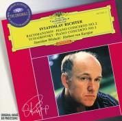 Sviatoslav Richter, Herbert von Karajan, Stanisław Wisłocki, Warsaw Philharmonic Orchestra, Wiener Symphoniker: Rachmaninov/ Tchaikovsky: Piano Concertos - CD