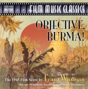 William Stromberg: Waxman: Objective, Burma! - CD