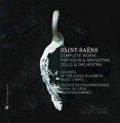 Christian Arming, Liege Royal Philharmonic: Saint-Saens: Com. Works for Violin & Orchestra, Cello & Orchestra - CD
