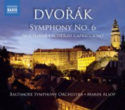 Marin Alsop: Dvorak: Symphony No. 6 - Nocturne - Scherzo capriccioso - CD