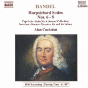 Handel: Harpsichord Suites Nos. 6 - 8 - CD