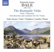 Stephen Coombs, Yuko Inoue: Dale: The Romantic Viola - CD