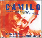 Michel Camilo, BBC Symphony Orchestra, Leonard Slatkin: Michel Camilo: Concerto For Piano & Orchestra; Suite For Piano, Harp & Strings; Caribe - CD