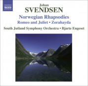 Bjarte Engeset: Svendsen, J.: Norwegian Rhapsodies Nos. 1-4 / Romeo and Juliet / Zorahayda - CD