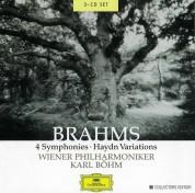 Karl Böhm, Wiener Philharmoniker: Brahms: 4 Symphonies / Haydn Variations - CD