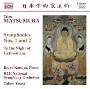 Takuo Yuasa: Matsumura: Symphonies Nos. 1 & 2 / To the Night of Gethsemane - CD