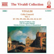 Vivaldi: Cello Concertos, Vol.  1 - CD
