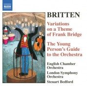 Steuart Bedford: Britten: The Young Person's Guide To the Orchestra / Variations On A Theme of Frank Bridge - CD