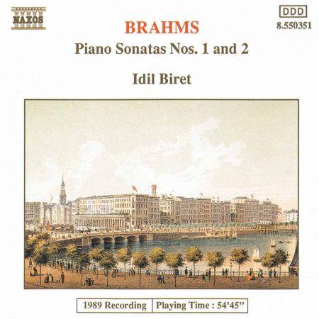 İdil Biret: Brahms: Piano Sonatas Nos. 1 & 2 - CD