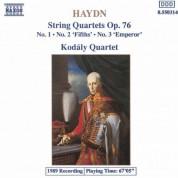 Haydn: String Quartets Op. 76, Nos. 1-3 - CD