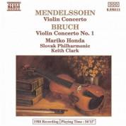 Mariko Honda: Mendelssohn / Bruch: Violin Concertos - CD