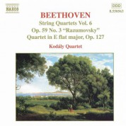 Beethoven: String Quartets Op. 59, No. 3, 'Rasumovsky' and Op. 127 - CD