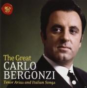 Carlo Bergonzi: The Great Carlo Bergonzi. Tenor Arias And Italian Songs - CD