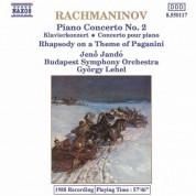 Jeno Jando: Rachmaninov: Piano Concerto No. 2 / Rhapsody On A Theme of Paganini - CD