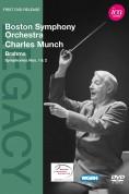 Boston Symphony Orchestra, Charles Munch: Brahms: Sym. Nos.1-2 - DVD