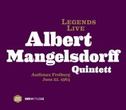 Albert Mangelsdorff: Legends Live - Freiburg, 1964 - CD