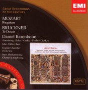 Daniel Barenboim, English Chamber Orchestra: Mozart: Requiem/ Bruckner: Te Deum - CD