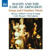 Cafe Mozart: Haydn, J. / The Earl Of Abingdon: Songs and Chamber Music - CD