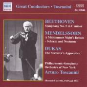 New York Philharmonic Symphony Orchestra: Beethoven:Symphony No. 5 / Mendelssohn: A Midsummer Night's Dream (Toscanini) (1926, 1929, 1931) - CD
