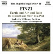 Finzi: Earth and Air and Rain / To A Poet / By Footpath and Stile (English Song, Vol. 15) - CD