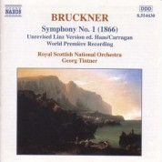 Royal Scottish National Orchestra, Georg Tintner: Bruckner: Symphony No. 1 - Adagio to Symphony No. 3, WAB 103 - CD