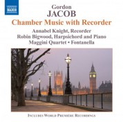 Annabel Knight: Jacob: Chamber Music with Recorder - CD