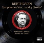 Herbert von Karajan: Beethoven: Symphonies Nos. 1 and 3 (1952-1953) - CD