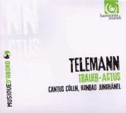 Cantus Cölln, Konrad Junghänel: Telemann: Trauer-Actus - CD